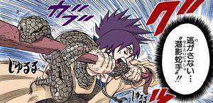 Manos de Serpientes Ocultas en las Sombras Manga