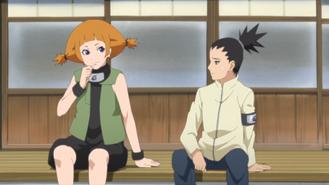 Moegi & Shikadai