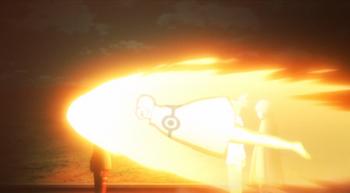 Naruto voando