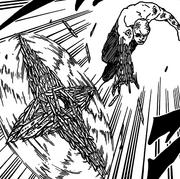 A shuriken de bisturi de Shin