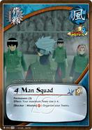 Escuadrón de 4 Hombres Carta