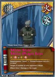 Jutsu Dragón de Agua BP