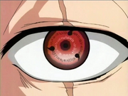 Sharingan de Kakashi no anime