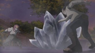 Shikadai Confronts Ryōgi