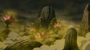 Elemento Madera Advenimiento de un Mundo de Árboles de Flores Anime