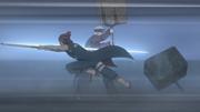 Iwabee lutando contra Ichirōta
