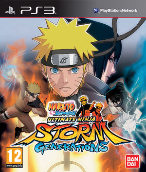 Naruto Shippudden UNSG box PS3