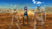 Shishio camouflaging teammates