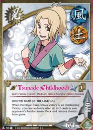 Tsunade (Infancia) BP