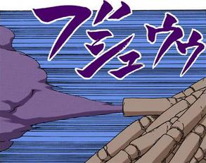 Ataque da Super Arma (Sasori - Mangá)