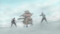 Cintilação Corporal na Névoa (Haku - Anime)