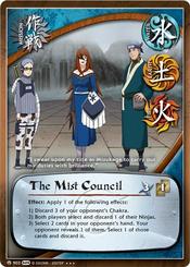 El Consejo de la Niebla Carta