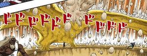 Muro de Polvo Dorado Manga Color