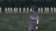 Um Grupo de Zetsu acham Sasuke
