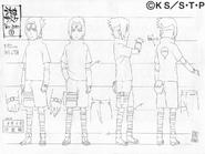 Arte Pierrot - Sasuke Genin
