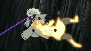 Arte Sabio Colmillo de Luz de Elemento Tormenta Anime