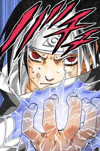 Chodoro de Sasuke (Mangá Colorido)