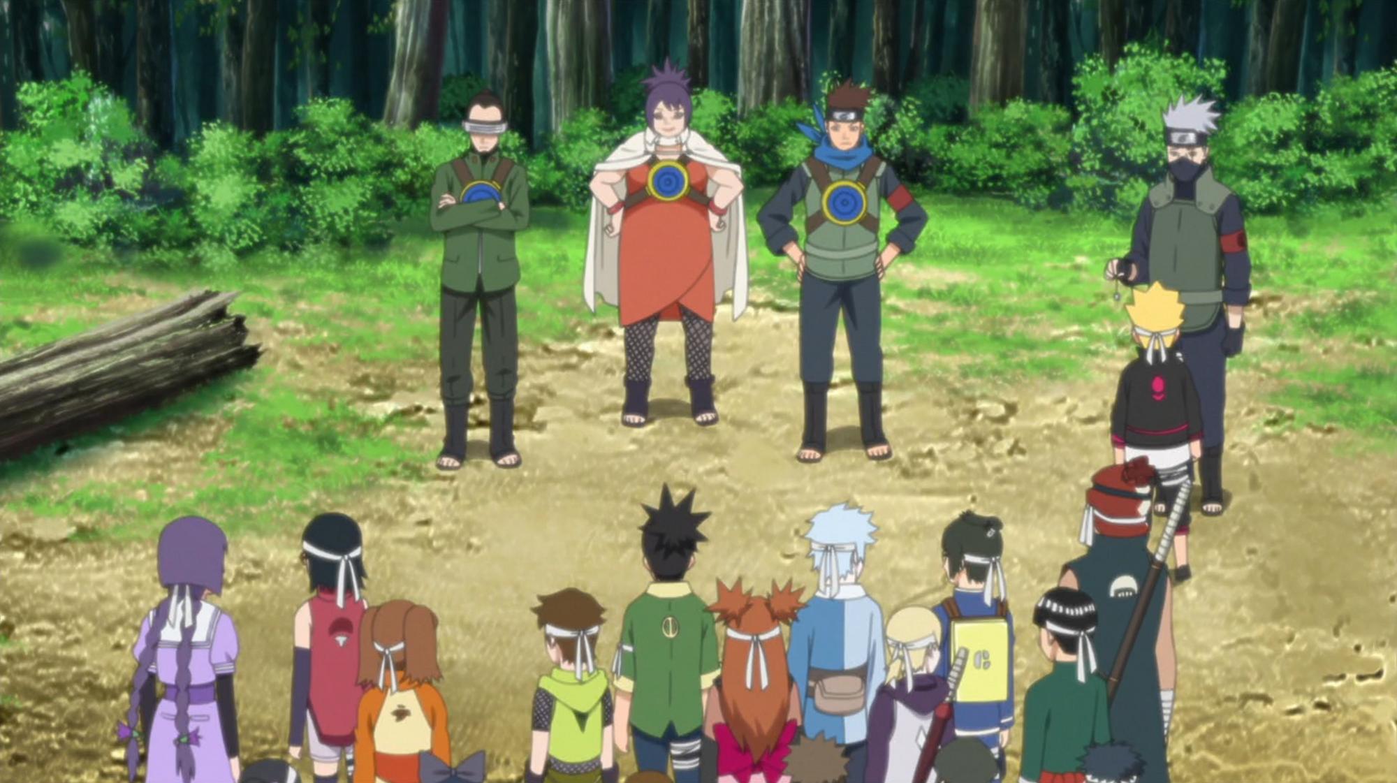 The Graduation Exam Begins!   Narutopedia   FANDOM powered