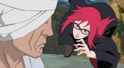 Karin tenta atacar Danzo