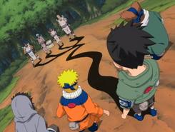 Shikamaru using Kagemane