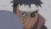 Tobi's left Sharingan