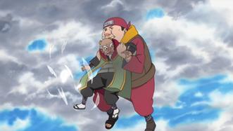 Akatsuchi stops Onoki