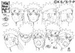 Diseño de Naruto Modo Sabio II por Pierrot
