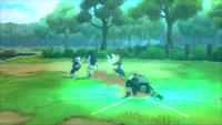 Kakashi invoca os niken (Game)