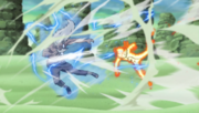 Naruto vs 3rd Raikage