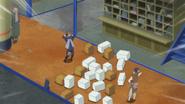 Hōki perde o controle com seus colegas