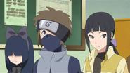 Hako, Hōki e Tsuru esperando na fila de decisão dos times
