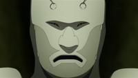 Máscara kabuki de Mitsuki