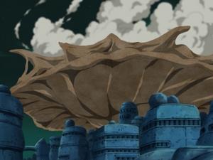 Protección de Cielo Pared de Arena Anime