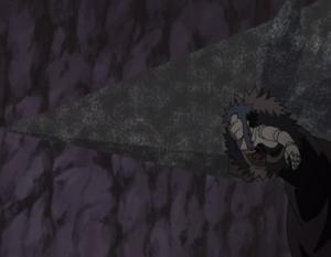 Lanza de Arena de Hierro Anime