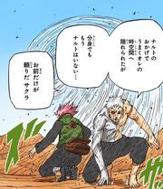 Obito e Sakura chegam na Dimensão Desértica
