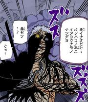 Obito es poseído por el Zetsu Negro para revivir a Madara