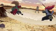 Onda de Choque de la Estatua Demoníaca Anime