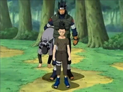Asuma ratuje Shikamaru