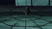Obito invocando a Kurama