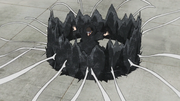 Pared de Arena de Hierro Versión de Shinki Anime