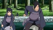 Tajima et Izuna arrivent