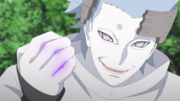 Urashiki com o chakra de Sasuke
