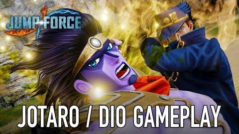 JUMP Force - PS4 XB1 PC - Jotaro & Dio (gameplay trailer)