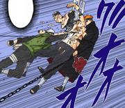Kakashi ataca Caminho Deva
