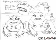 Arte Pierrot - Gamakichi & Gamatatsu