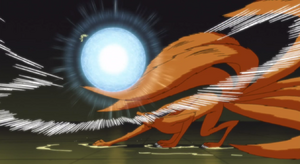 Arte Sabio- Super gran bola Rasengan