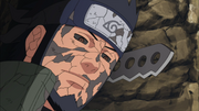 Asuma Sarutobi before being sealed away