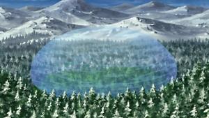 Elemento Agua Gran Explosión de Agua Colisión de Olas Anime