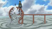 Elemento Madera Anillo Espinoso de Madera Anime