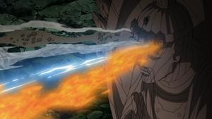 Elemento Madera Jutsu Combinación de Cinco Elementos Anime